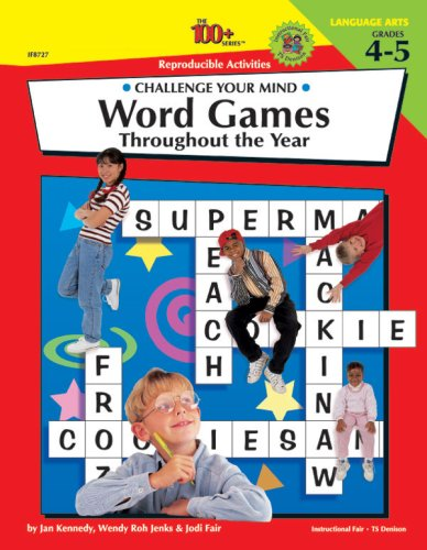Word Games Throughout the Year Grades 4-5, INSTRUCTIONAL FAIR (EDT)