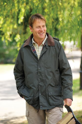 Mens COUNTRY ESTATE Waterproof Rain Coat Jacket Green Size XXL