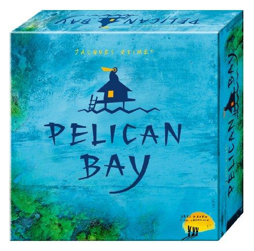 Pelican Bay: Taktisches Legespiel fur die Familie, bei der eine stimmungsvolle Sudseelandschaft entsteht
