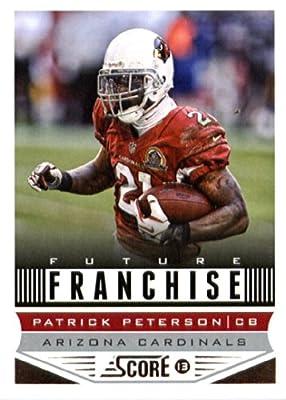 2013 Score NFL Football Trading Card # 299 Patrick Peterson Future Franchise Arizona Cardinals