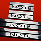 NISSAN NOTE MK2 NOTE DOOR SILLS KICK PLATE COVER STAINLESS STEEL 304 MIRROR FINISH 410841 NOTE