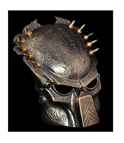 [Alien Vs Predator Warrior Mask adult size Movie party masquerade party Halloween] (Adult Dumbledore Costumes)