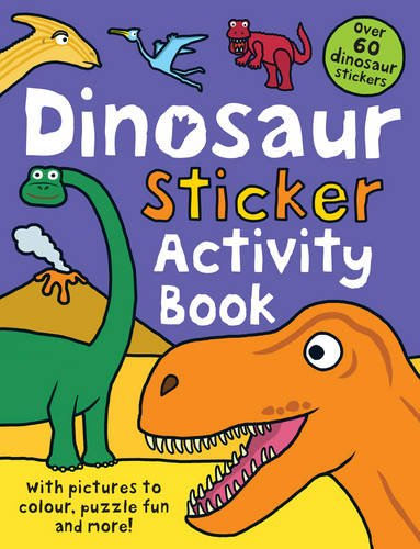 Dinosaur Sticker Activity Book (Preschool Sticker Activity Books)