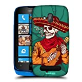 Head Case Designs Musico The Unliving Protective Snap-on Hard Back Case Cover for Nokia Lumia 610