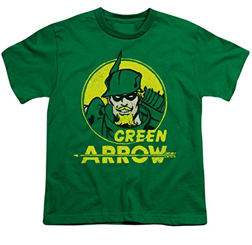DC Green Arrow Archer Circle Youth T-Shirt