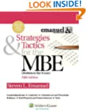 Strategies & Tactics for the MBE, Fifth Edition (Emanuel Bar Review)