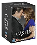 Castle Crime Drama TV Series Complete DVD [33 Discs] All Episodes DVD Collection Box Set: Season 1, 2, 3, 4, 5 and 6 + Extras