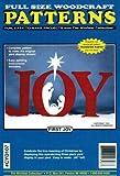 First Joy Nativity Christmas Yard Art Woodworking Pattern