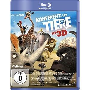 Konferenz der Tiere (3D Version) 3D Blu-ray