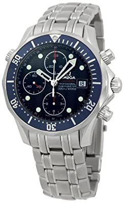 Omega Men's 2225.80 Seamaster Chronograph Dial Watch from Omega
