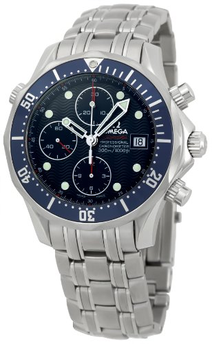 Omega Men's 2225.80 Seamaster Chronograph Dial Watch