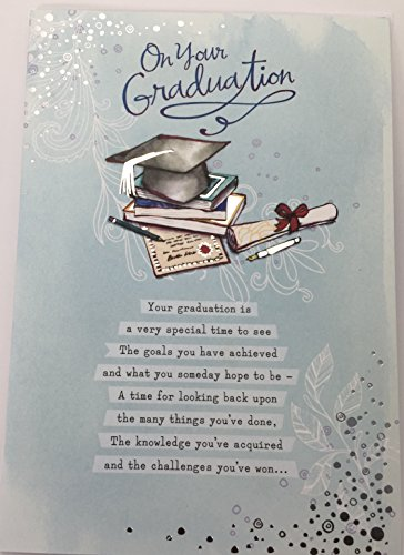 on-your-graduation-papyrus-greeting-card-by-hallmark-traditional-glitter-card-blue