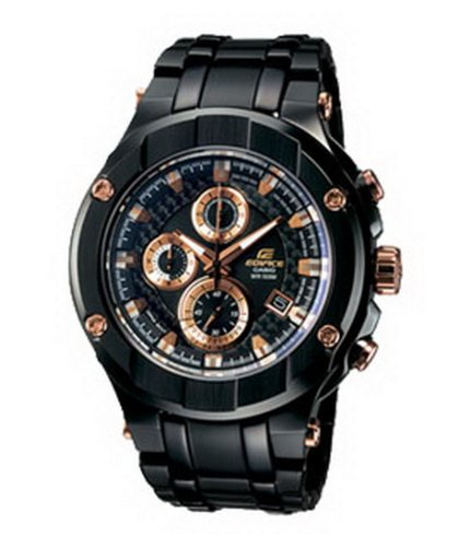 Casio Men's Edifice Gold Label EFX-500BK-1AVEF