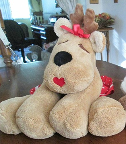 Hallmark Large Ramona Reindeer Stuffed Plush Animal front-1056627