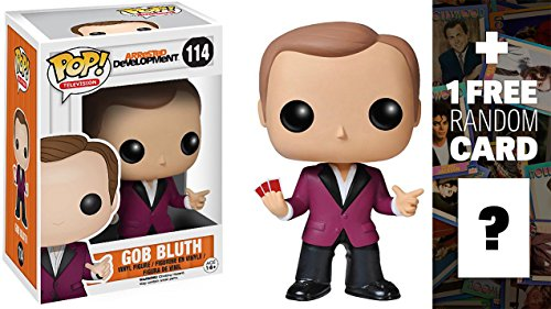 Gob Bluth: Funko POP! x Arrested Development Vinyl Figure + 1 FREE Official Hollywood themed Trading Card Bundle [39448]