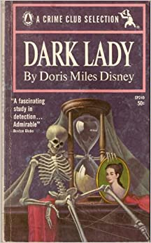 Dark Lady. A Crime Club Selection: Doris Miles Disney