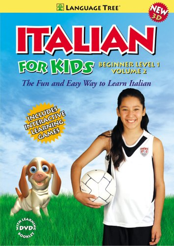 Italian for Kids: Learn Italian Beginner Level 1 - Volume 2 (2008)