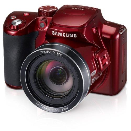 Samsung WB2100 16.3MP CMOS Digital Camera with 35x Optical  Zoom, 3.0