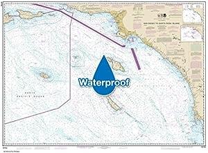NOAA Chart 18740 San Diego to Santa Rosa Island 365 X 496 WATERPROOF
