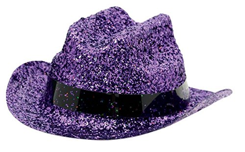 hat gltr mini cowboy purple