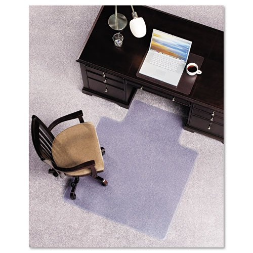 E.S. Robbins : Anchormat Chair Mat for Plush Carpets, 45w x 53h, Clear -:- Sold as 2 Packs of - 1 - / - Total of 2 Each