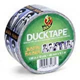 Duck Brand 281513 Justin Bieber Printed Duct Tape, 1.88-Inch by 10 Yards, Single Roll