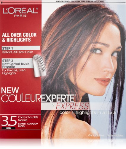 Couleur Experte Darkest Mahogany Brown , Chocolate Mousse (Chocolate Color Hair Dye compare prices)