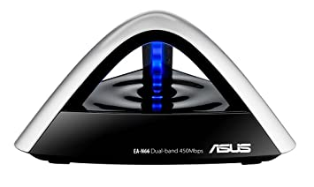 Asus EA-N66 Dualband Wireless LAN N Ethernet Adapter (3-in-1 mode) 802.11 a/b/g/n, 450Mbps,