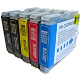 5 CiberDirect Compatible Ink Cartridges for use with Brother MFC-260C Printers.