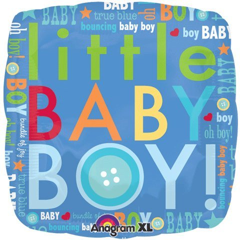 18 Inch Little Baby Boy Letters Balloon
