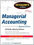 Schaum's Outline of Managerial Accounting, 2nd Edition (Schaum's Outline Series)