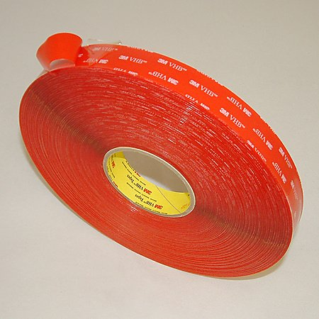 3M Scotch 4905 VHB Tape (20 mil / transparent): 1 in. x 72 yds. (Clear)