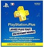 Abonnement 90 jours PlayStation Plus