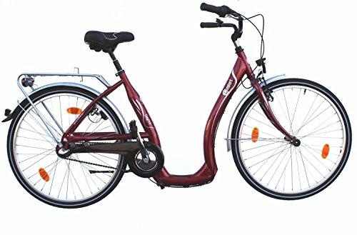 26-Zoll-Damen-City-Bike-Fahrrad-Shimano-Nexus-3-Gang-Easy-Boarding-bordeaux