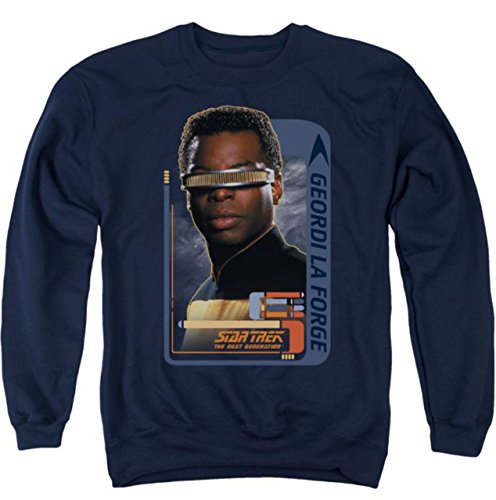 Sweater: Geordi Laforge Star Trek The Next Generation CBS581AS