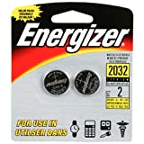 Energizer Lithium Coin Blister Pack Watch/Electronic Batteries, 2 - Count (Pack of 12) ~ Energizer