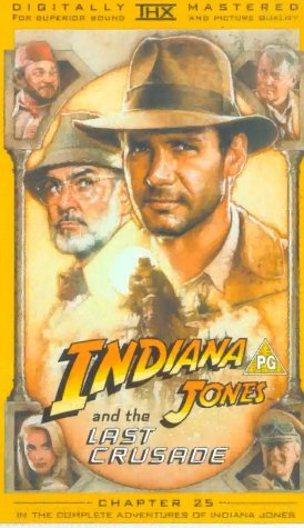 Indiana Jones And The Last Crusade [UK-Import] [VHS]