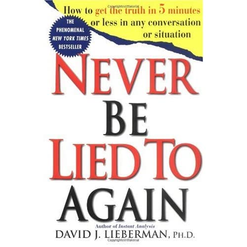 Never Be Lied to Again How to Get the Truth In 5 Minutes Or Less In Any Conversation Or Situation-Mantesh preview 0