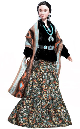 51JY85N28KL Cheap  Dolls of the World: Princess of Navajo Barbie