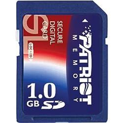 Patriot PSF1G40SD 1 GB 40X Speed SD Card