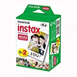 Fujifilm Instax mini Twin Film Pack (20 Exposures) (Tamaño: Film)