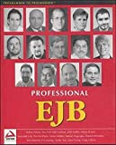 img - for Professional EJB book / textbook / text book