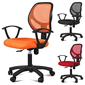 Yaheetech Ergonomic Mesh Computer Office Desk Task Midback Task Chair Metal Base