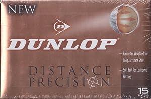 Dunlop Distance Precision 15 Golf Balls by Dunlop