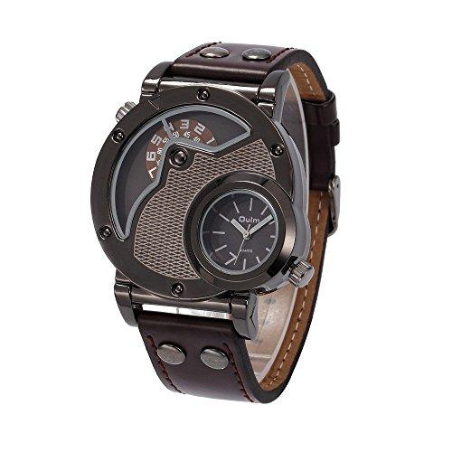 vear-herren-quarz-militar-dual-time-movt-rund-geformtes-leder-armbanduhr-braun-einheitsgrosse-braun