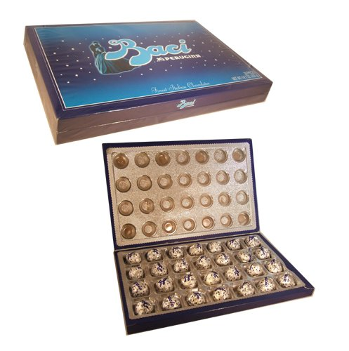 Baci Perugina Italian Chocolate Christmas Holiday Thanksgiving Gift Box 14.1 ounces (28 pieces)