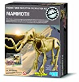 Childs Make Your Own Activity Kit Toy - Kidz Labs - Dig a Mammoth Skeleton