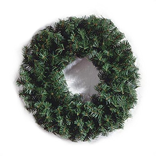 Darice MC-1113 Canadian Pine Wreath with 220 Tips, 24-Inch