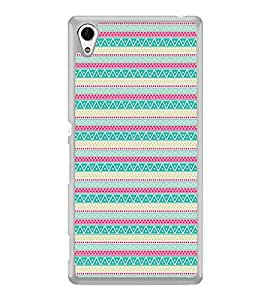 ifasho Animated Pattern colrful tribal design Back Case Cover for Sony Xperia Z4