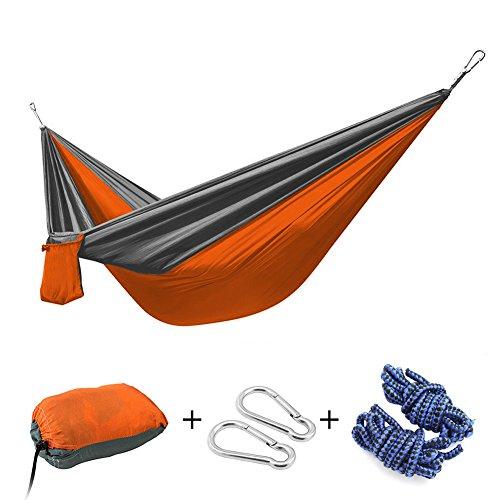 HngematteIWMH-Ultra-leicht-275140CM-Tragbar-Parachute-Hngematte-Aus-Fallschirm-Nylon-Fr-Reisen-Camping-Outdoor-Garten-Strand